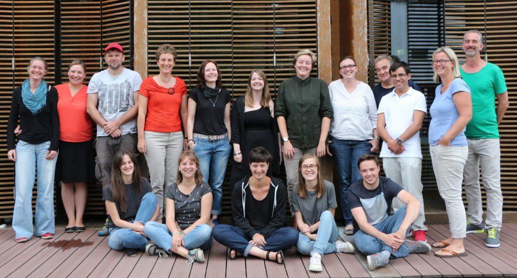 Gruppenfoto des Teams des MMSZ