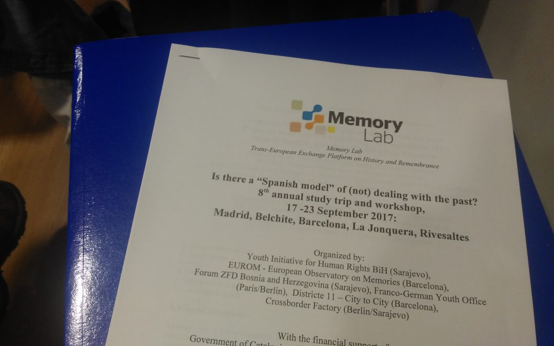 Memory Lab 2017